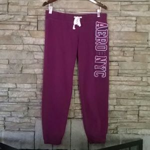 Aeropostle Sweats Joggers M purple
